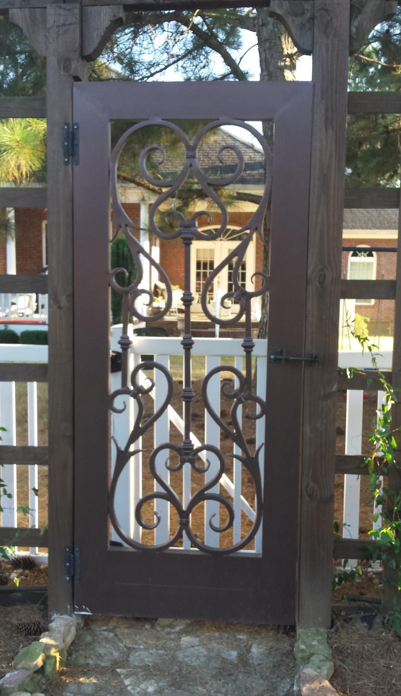 Ornamental Iron Door
